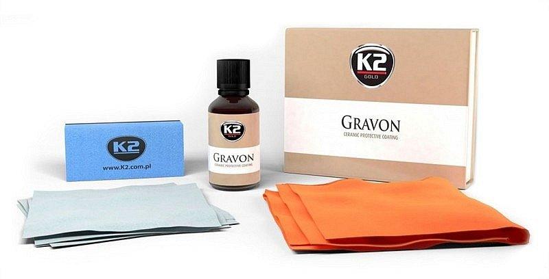 Compass K2 GRAVON 50 ml - keramická ochrana laku