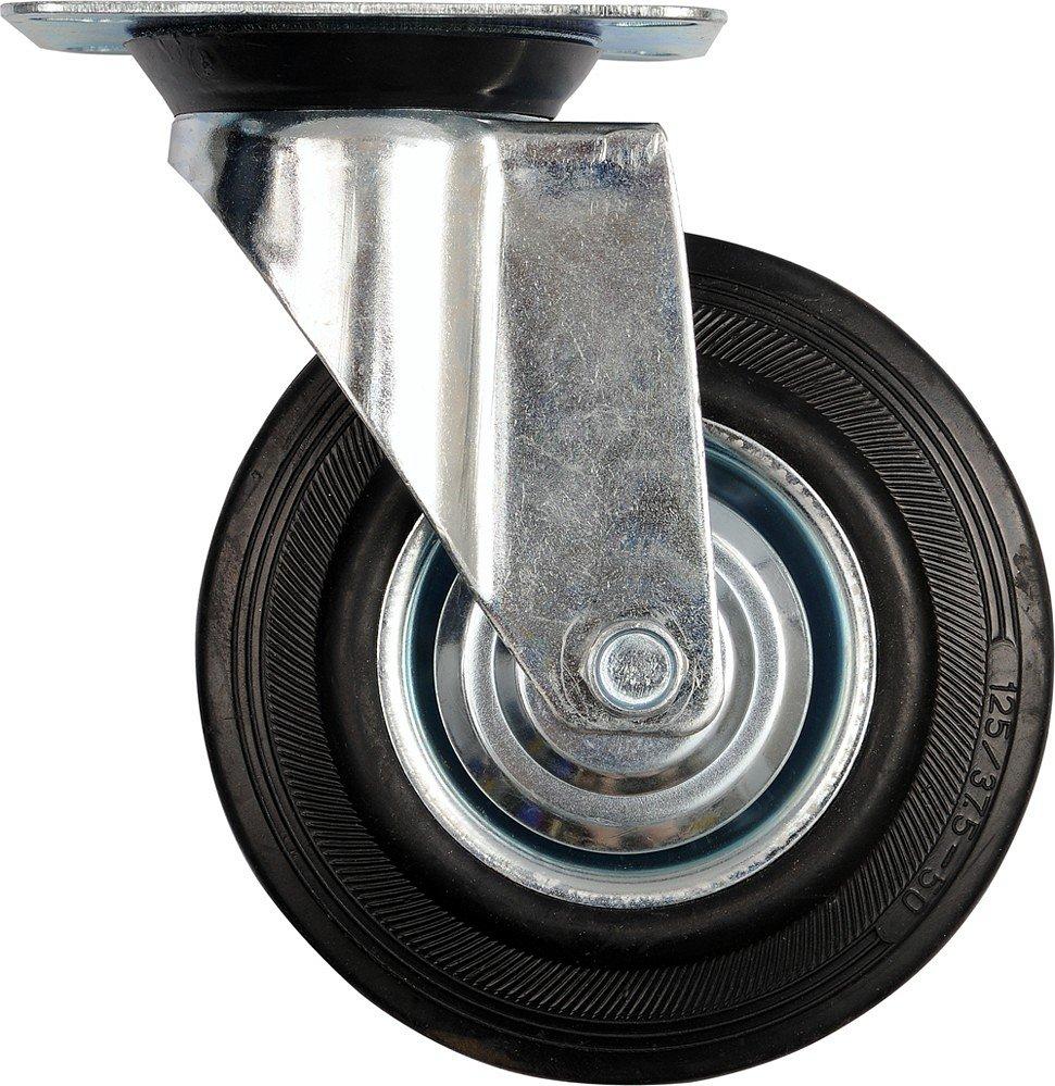 Compass Kolečko otočné, gumové 130kg 160/40/195mm