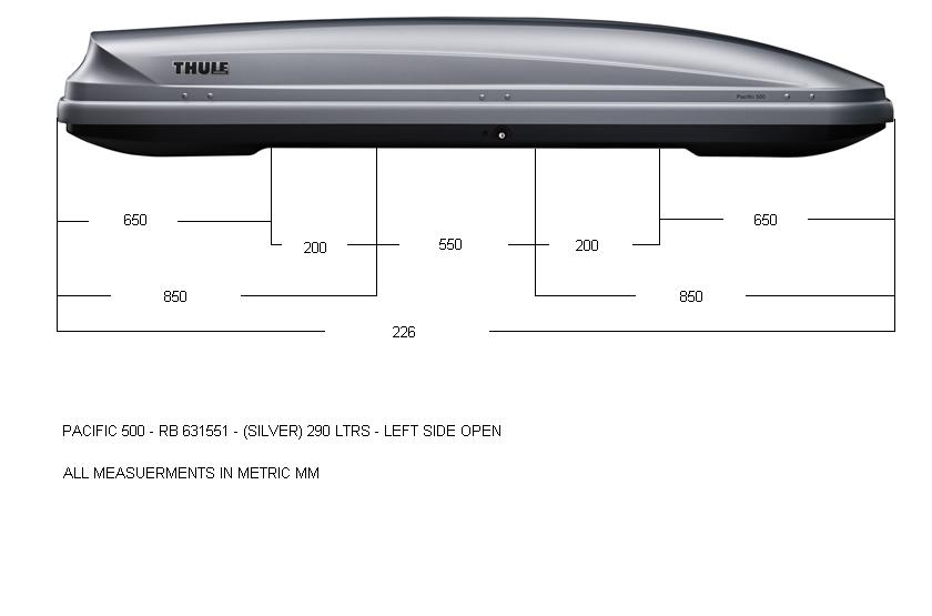 Thule Pacific 500 Aeroskin
