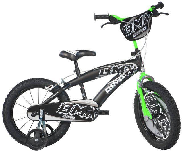 """Dino BMX 165XC černá 16"""" 2017 dětské kolo"""