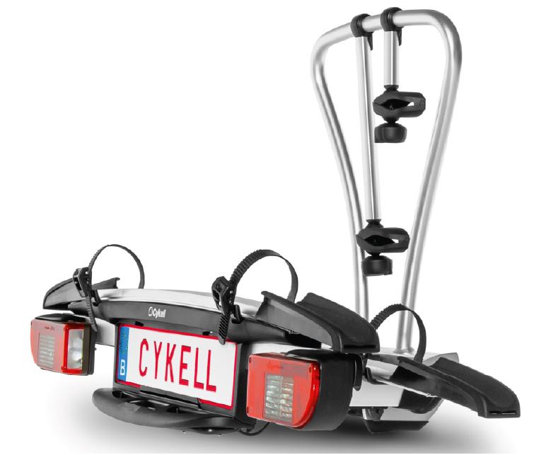 Nosič kol na tažné zařízení T2 Cykell Just Click ***