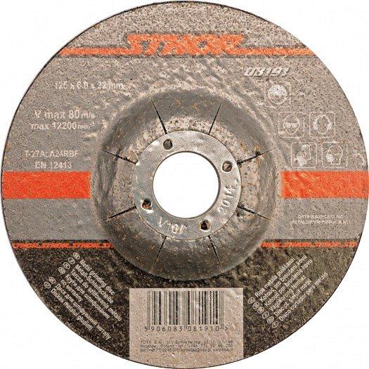 Compass Kotouč na kov 115x6,0x22mm brusný