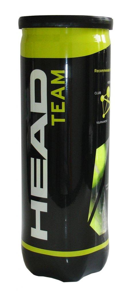 HEAD Tenisové míče TEAM - 3 ks v dóze