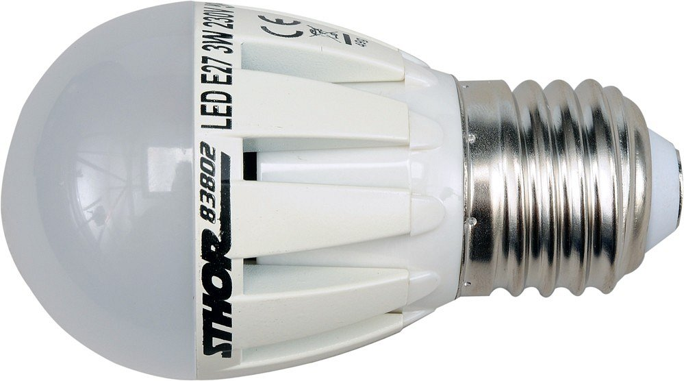 LED žárovka P45 E27 230V 3W 210LM