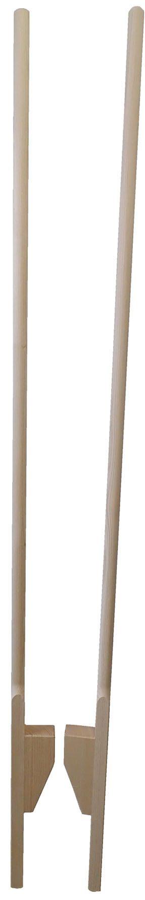Chůdy celodřevěné, délka 190cm