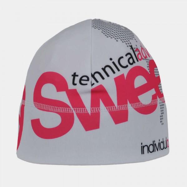 Čepice Sweep Sport bílo/růžová