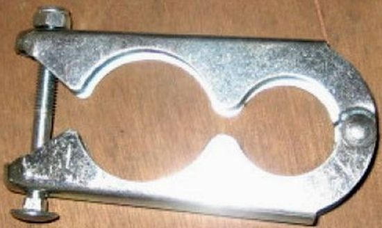 G.M.S. náhradní svorka k tyčím trampolín 150 - 518 cm
