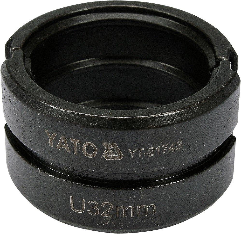 Compass Náhradní čelisti k lisovacím kleštím YT-21735 typ U 32mm