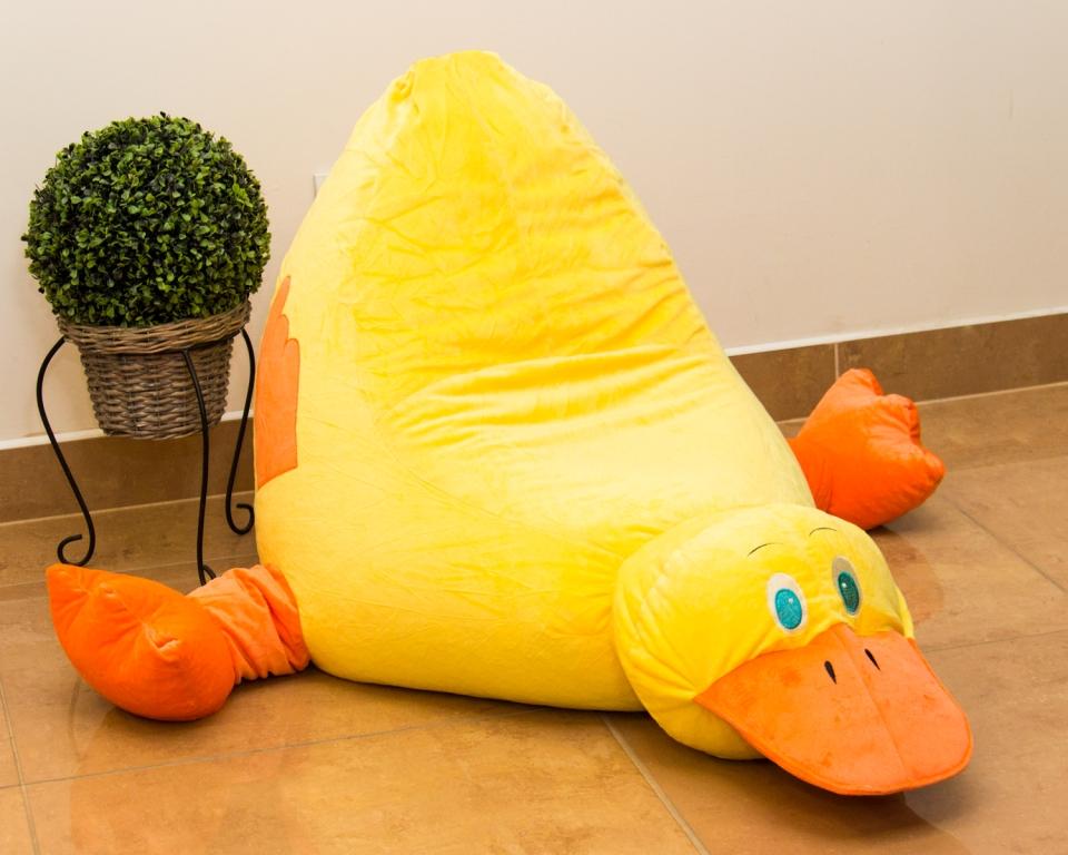 Dětský sedací pytel Omni Bag Yellow Duck 105x64x60