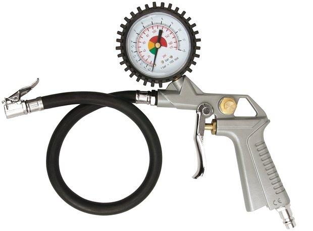 Compass Pistole na hustění pneu s manometrem 2,8-10 bar