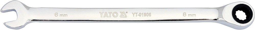 Compass Klíč očkoplochý ráčnový 6 mm