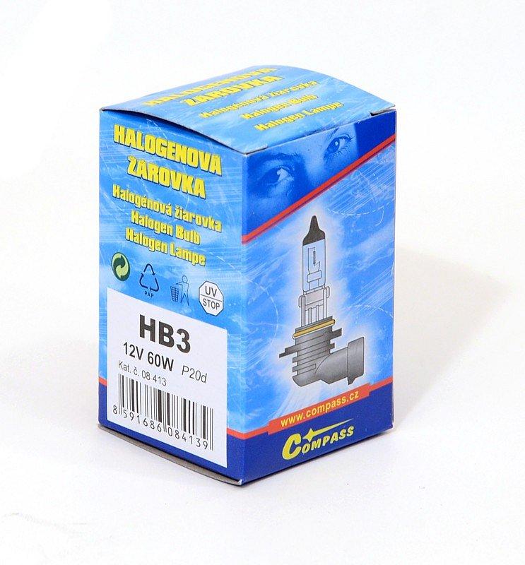 Compass Žárovka 12V HB3 60W P20d box