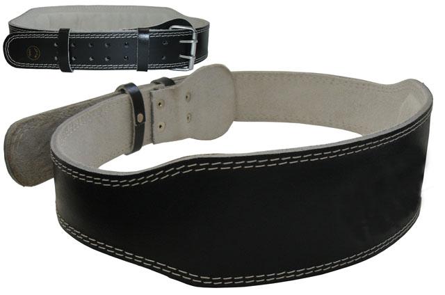 ACRA D16M Vzpěračský pás kožený vel. M - 105 cm