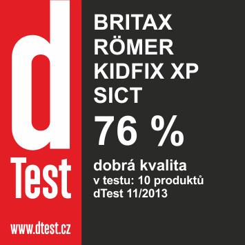 BRITAX RÖMER Autosedačka KIDFIX XP SICT 2016, Black Marble