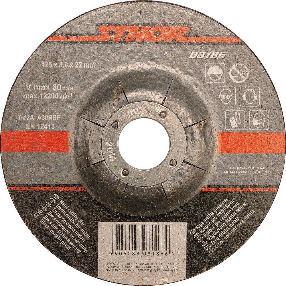 Compass Kotouč na kov 230 x 22 x 3,0 mm vypouklý řezný
