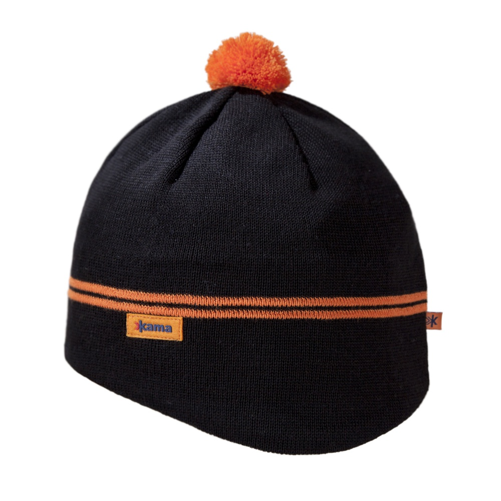 Pletená čepice Kama A64 černá