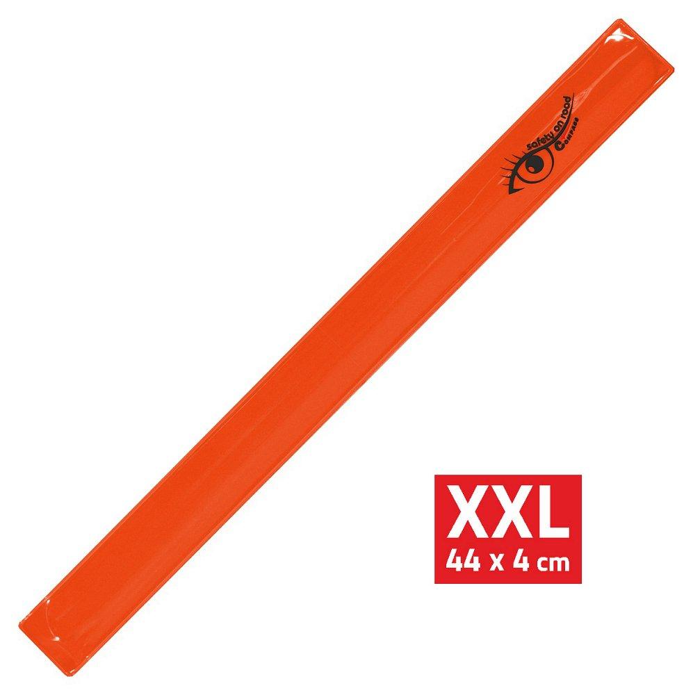 Compass Pásek reflexní ROLLER XXL 4x44cm S.O.R. oranžový